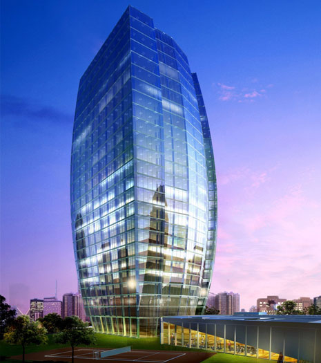 State-of-the-art offices at Port Baku Towers